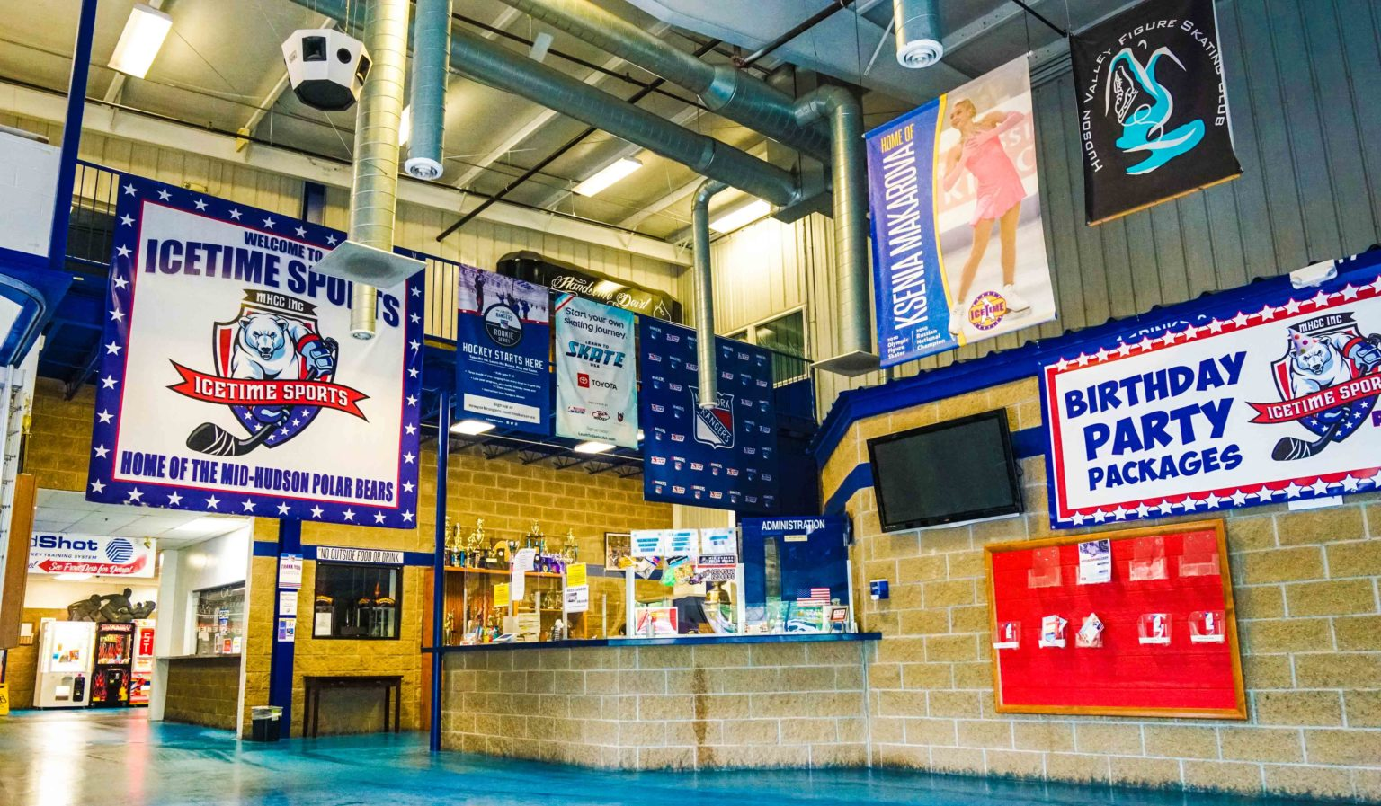 History | IceTime Sports Complex | Sports Facility